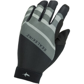 Sealskinz Solo Super Thin MTB-hanskat, black/grey